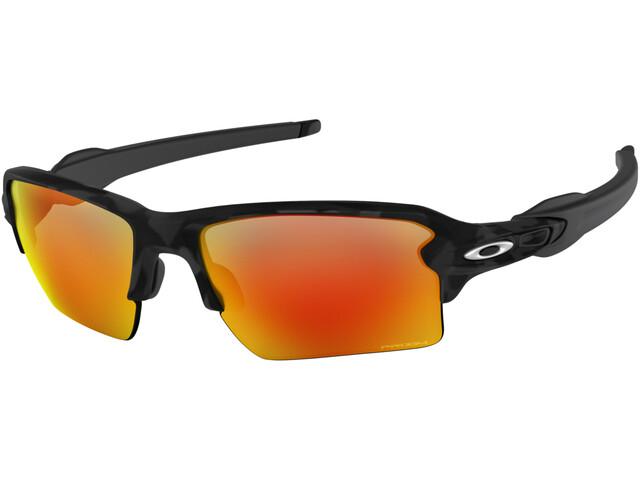 Oakley Flak 2.0 XL Solbriller, black camo/prizm ruby